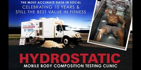 Body Composition Testing- Whittier tickets