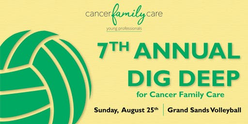 7th Annual Dig Deep for Cancer Family Care