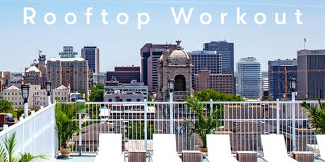 August Rooftop Wine Workout  tickets