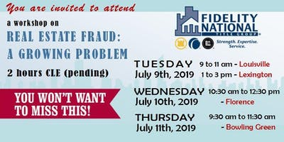 REAL ESTATE FRAUD: A GROWING PROBLEM - Louisville