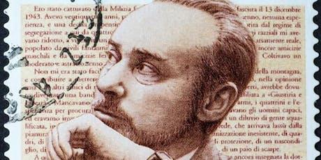 Conferencia: Vida y Obra de Primo Levi, A 100 Años de su Nacimiento entradas