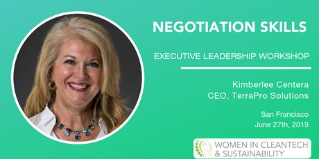 Women in Cleantech: Negotiation Skills Executive Leadership Workshop tickets