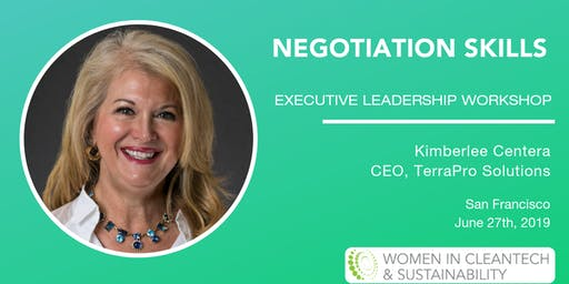 Women in Cleantech: Negotiation Skills Executive Leadership Workshop
