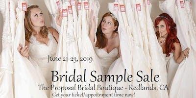 Summer Bridal Sample Sale