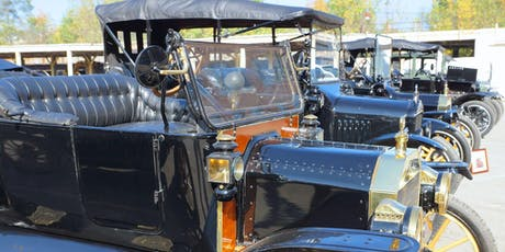 2019 Model T Birthday Car Show Vehicle Registration tickets