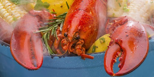Maine Lobster Boil on The Patio