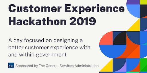 GSA Customer Experience Hackathon 2019
