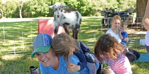 Mommy and Me Play Date - Goat Cuddles & a lil Goat Yoga