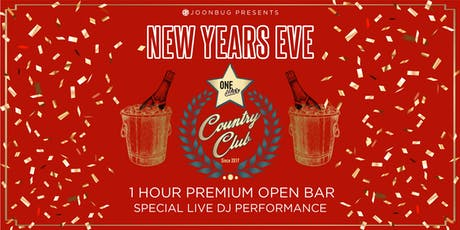Lindypromo.com Presents One Star Country Club New Years Eve Party 2020 tickets