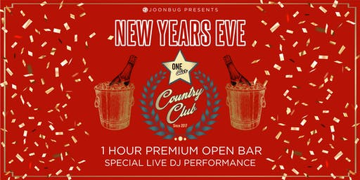 Lindypromo.com Presents One Star Country Club New Years Eve Party 2020