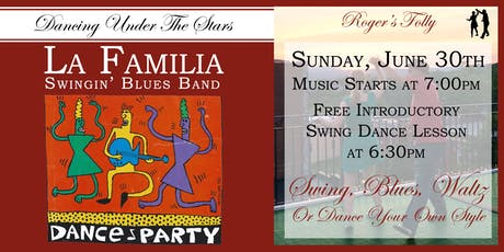Roger's Folly | Dancing Under The Stars with La Familia tickets
