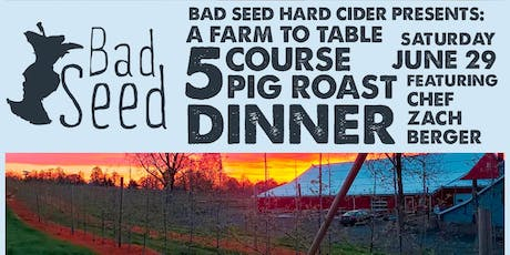 Bad Seed Farm Dinner Series - June tickets