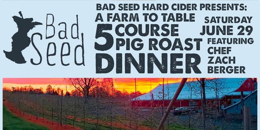 Bad Seed Farm Dinner Series - June