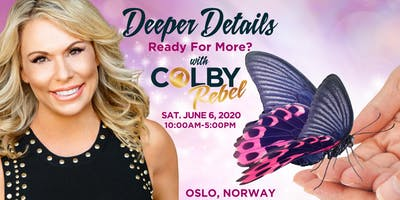 Deeper Details -1 day Mediumship workshop with Colby in Oslo