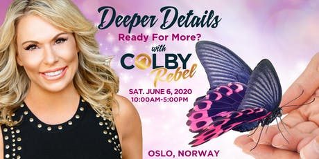 Deeper Details -1 day Mediumship workshop with Colby in Oslo tickets