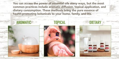 3 ways to use Essential Oils tickets