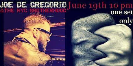 Joe De Gregorio & the Brotherhood feat. Ari Hoenig tickets