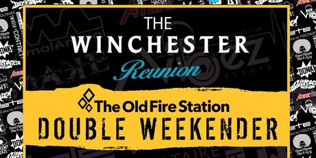 The Winchester Reunion Double Weekender 40 DJs 2 Saturday nights tickets