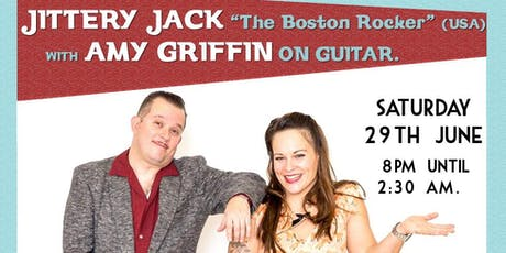 Jittery Jack with Miss Amy on guitar (USA) & The Frantix. tickets