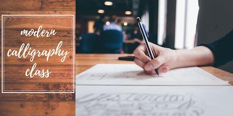 Beginner Level Modern Calligraphy Class  tickets