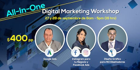 All-In-One Digital Marketing Workshop entradas