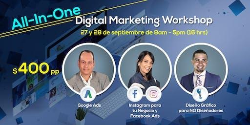 All-In-One Digital Marketing Workshop
