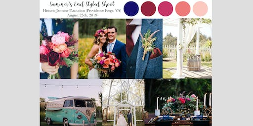 Summer's End Styled Shoot