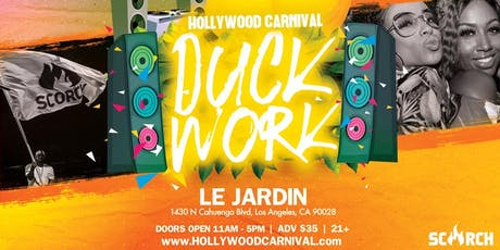 Hollywood Carnival  Duck Work tickets