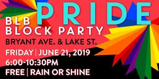 BLB PRIDE BLOCK PARTY