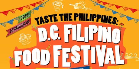 Taste the Philippines: D.C. Filipino Food Festival tickets