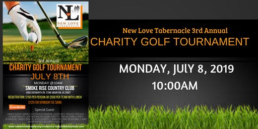 Charity Golf Tournament 2019