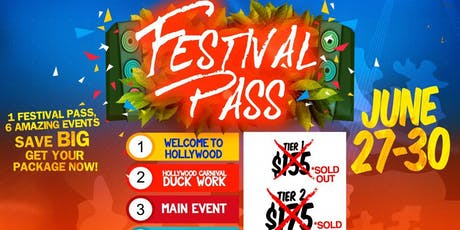 Hollywood Carnival 2019 (Festival Pass) tickets