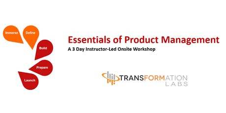 Essentials of Product Management - Sept 2019 tickets