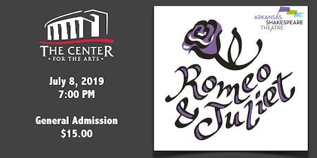 Arkansas Shakespeare Theatre presents Romeo & Juliet tickets