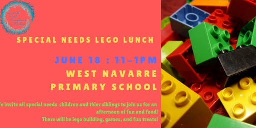 Special Needs LEGO Lunch
