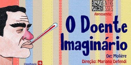 """Espetáculo Teatral - """"O Doente Imaginário"""" ingressos"""