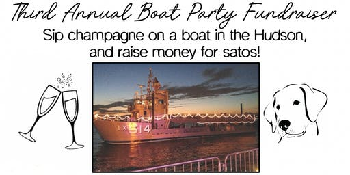 Third Annual Boat Party Fundraiser
