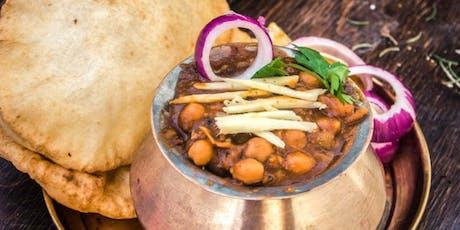 Indian food cooking class....vegan /vegetarian  tickets