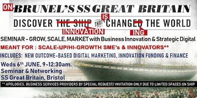 GROW, SCALE, MARKET with Business Model Innovation & Strategic Digital