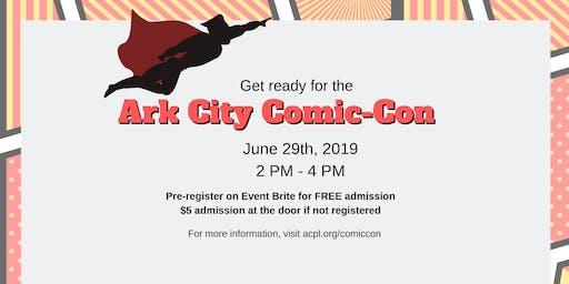 Ark City Library Comic-Con