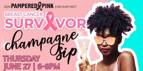 Survivor Champagne Sip! tickets