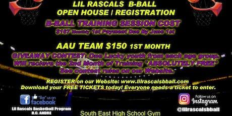 Lil Rascals B-ball Registration #2 tickets