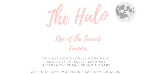 The Halo: An evening of soul coaching, restorative yoga and sound therapy