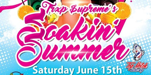 SOAKIN' SUMMER ISLAND PARTY: Pesented by The Social and TVXP SUPREME