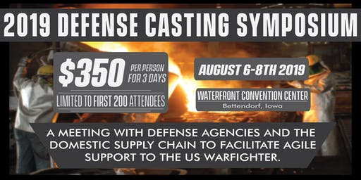 2019 Defense Casting Symposium