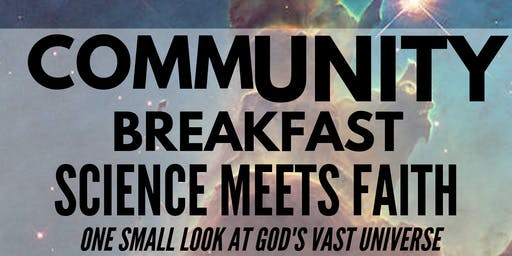 CommUNITY Breakfast -Science Meets Faith, with Jim Odom