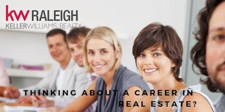 KW Raleigh Real Estate Career Hour tickets