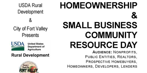 USDA Homeownership and Small Business Resource Day