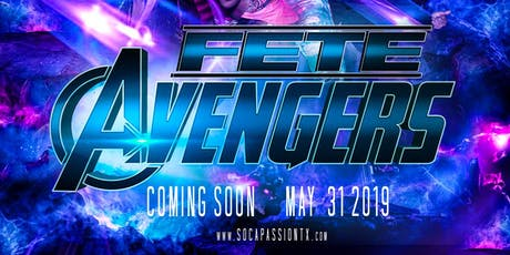 SOCA PASSION - Fete Avengers tickets
