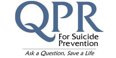QPR Training - Suicide Prevention